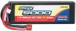 LiPo 7.4V 5000mAh Star/T-Stecker 25C 2S Hard DTXC1864