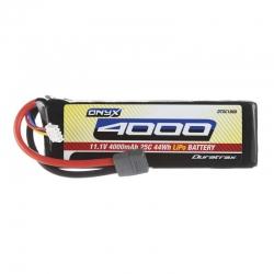 LiPo 11.1V 4000mAh Star/T-Stecker 25C 3S Soft DTXC1868