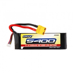 LiPo 11.1V 5400mAh XT90-Stecker 50C 3S Soft DTXC2004