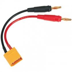 Ladekabel XT90-Stecker (männlich)-4mm (männlich) - DTXC2224