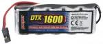DTX NiMH Empfängerakku 6V 1600mAh Flat JR-Stecker DTXM2017