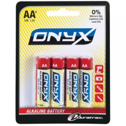 Onyx AA Alkaline Mignon Batterien 4 Stück DTXP4704