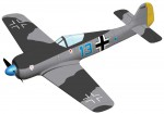 AirCore Airframe Messerschmitt Me-109 FLZA3906