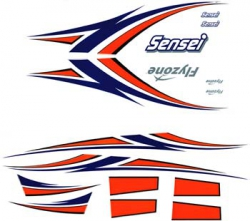 Decal Set Sensei FLZA6177