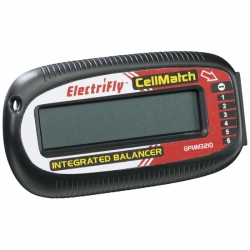 CellMatch 6-Zellen LiPo/Ion Voltmeter & Ballancer GPMM3210