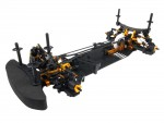 DETC410 Comp.Chassis 4WD 1:10 KIT TD102023