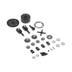 Gear Diff Set 43T Spiral Cut (Fr TD210057