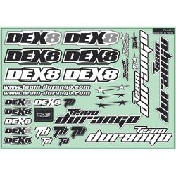 DEX8 Decal Sheet TD490039