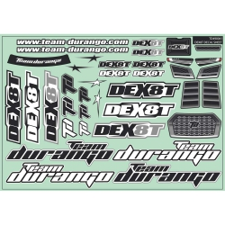 DEX8T Decal Sheet TD490041