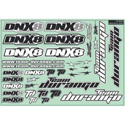 DNX8 Decal Sheet TD490043