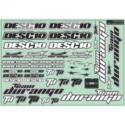 DESC10 DECAL SHEET TD490046