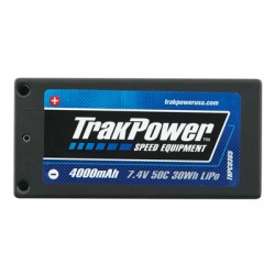TKP LiPo 2S 7.4V 4000mAh 50C HC 4mm Shorty TKPC0365