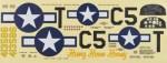 Decal Set P-51D Mustang 60 TOPA1730