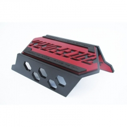 Raceform Lacer CarStand Anodized red Graupner RF20161711RED