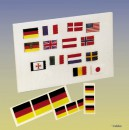 BUNDESDIENSTFLAGGE 2STK Robbe 1-1360 1360