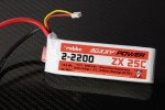 Roxxy-Power ZX 2S 2200mAh 25C Robbe 4871 1-4871