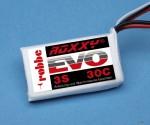 LiPo-Akku ROXXY© Evo 3-1250 3 Robbe 6607 1-6607
