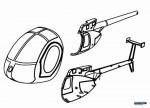 Kabinenhaube Solo Pro 127 Robbe NE251401 1-NE251401