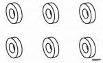 Gummitüllen Blattlagerwellen Robbe NE251406 1-NE251406