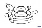 Taumelscheibe Solo Pro 127/12 Robbe NE251412 1-NE251412