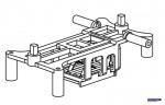 Batterierahmen Solo Pro 127 Robbe NE251421 1-NE251421