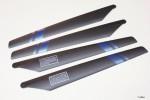 Hauptrotorblätter Blue Arrow Robbe S2510001 1-S2510001