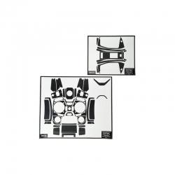 Dekorbogen mz-12 carbon Graupner S1002.14C