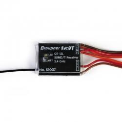 Empfänger GR-12L HoTT 2.4 GHz SUMD +T Graupner S1037