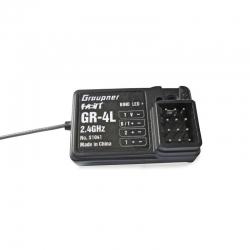 Empfänger GR-4L HoTT2.4 GHz 2 Kanal Graupner S1041