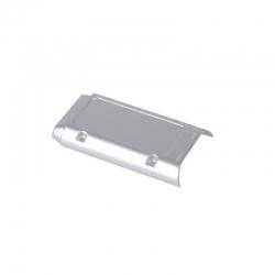 Gehäuserückteil silber zu Alpha 110 Graupner S5012.12.1