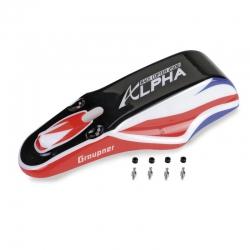 Alpha 250Q Haube lackiert Graupner S8471