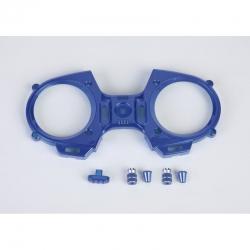 mz-12 Frontpl.+ Schalterk.+Knüppel blau Graupner S8524.BU