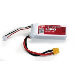 Power Pack LiPo 4/1600 14,8 V 90C XT60 Graupner S8530