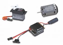 Set 1/10 2WD Set 1 Graupner SAB15506