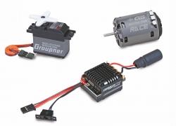 Set 1/10 4WD Set Graupner SAB15508
