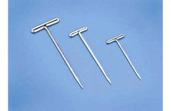 vernickelte T-Pins 1,1 x 38mm (100 Stk) DuBro T-DB254
