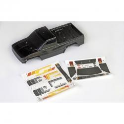 Pre-Painted Body BLACK & Sticker Graupner TPD90605S1 ThunderTiger PD90605S1