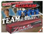 NOSRAM LiPo 7500 X-TREME Hardcase, 55C (110C) 7.4V Thunder Tiger