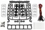 LED-Scheinwerfer-Set 6-fach für RC-Cars, Dach oder Front Thunder Tiger 03029268