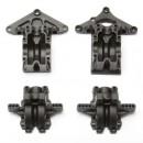 Q-Serie Getriebe-Gehäuse Vorne & Hinten, Set Thunder Tiger 0307117