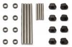 Q-Serie Querlenker-Pins, Stahl, Komplett-Set + Lagerbuchsen Thunder Tiger 0307158