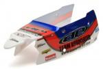 SC10B Karosserie, komplett-fertig TEAM AE Blau-Rot-Weiß Thunder Tiger 03091215