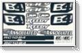 RC10B4 Dekorbogen Thunder Tiger 0309658