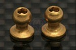 Kugelköpfe Gold 4-40x.20 - kurzer Kugel-Hals (2) Thunder Tiger 0309798