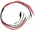 LiPo Ladekabel für 1S-2S Hardcase 4mm Gold-Stecker Thunder Tiger 030997