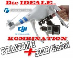 DJI Phantom II V2.0 - RTF Quadrokopter 2.4GHz - NEUE Version Thunder Tiger 0361002G