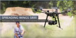 DJI S800 HexaCopter mit A2 GPS System Thunder Tiger 036S800