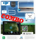 DJI COMBO iOSDmini & 2.4G DataLink Ground Station & Thunder Tiger 036SET4