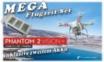 DJI PHANTOM 2 VISION PLUS QuadroCopter GPS RTF inkl. 2. Akku 036VPLUS