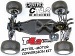 CT4.2 CENTRO Mittel-Motor-Conversion für RC10T4.1 & T4.2 Thunder